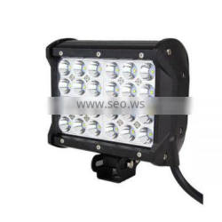 "6.5"" 72W CREE Off road LED Work Light Bar Flood Beam Driving ATV Lamp Quad Row 144w/252w"