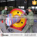 Supporting roller for rotary kiln