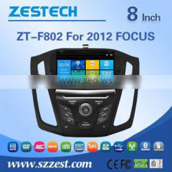 Wholesale car fm radios audio multimidea player auto steering wheel for Ford focus 2012 support Phone 3G DVR SWC BT