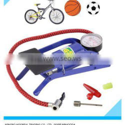 Foot Air Pump For Ball Bike Bicycle Tire Inflator Inflatable Mattress
