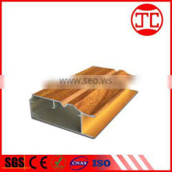 aluminum profile wood color