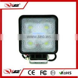 Hot product 4 inch 15w led work light led auto headlight led motorcycle headlight