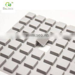 Strong adhesive silicone pads anti-slip bumper pad furniture feet pads