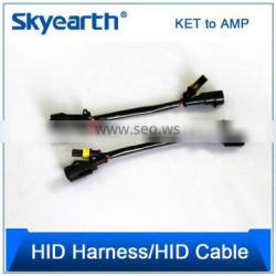 HID Conversion Kit Relay Wire Harness Adapter Wiring, Heavy Duty HID Relay Harness