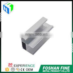 China factory high Precision anodized aluminium plate profile