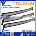 Multifunctional 12v/24v various size curved ce certification 300w 300w offroad led bars