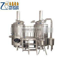 100L mini homebrew beer brewing equipment complete mash system brew kettle