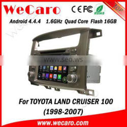 """Wecaro WC-TL7020 7"""" Android 4.4.4 car multimedia system in dash for toyota land cruiser car stereo android 1998-2007"""