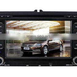 2 din car dvd gps for skoda octavia with CE and ROHS certificates