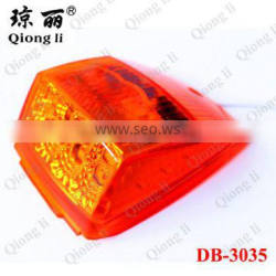 12v amber white very bright 50000 hours lifespan factory directly led side marker lamp