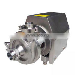 chemical food grade stainless steel high pressure centrifugal water pump