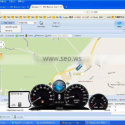 fleet management software car remote control with gps satellite map
