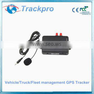 GPS GSM van/truck tracker device with door open alarm function