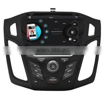 8 inch car dvd for ford focus 2012 with Rear View Camera GPS BT TV Radio RDS