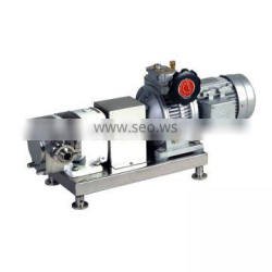 Stainless steel sanitary food industrial rotor water pump