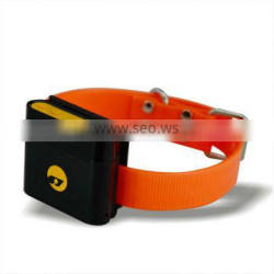 hot type !! Waterproof security anti theft dog gps tracker with collar