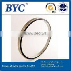 JB055XP0 Reail-silm Thin-section bearings (5.5x6.125x0.3125 in) Ball bearing BYC Band GCr15 Steel Robotic Bearings
