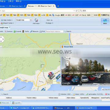 realtime precise GPS Tracking System with google street view and supporting apps