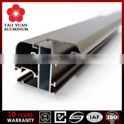 Fashionable Scratch resistant customed anodised aluminium profile for windows and doors