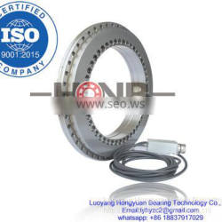 YRTM460 Rotary Table Bearings with steel measuring system