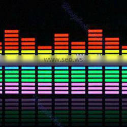 Sound activated equalizer led bar 90*25cm