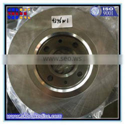 Cast Iron brake disc manufacturers chinese disc brake for French car brake disc