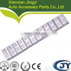 high quality all size of Pb clip on wheel balance weight (MC series)