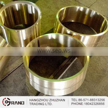 High temperature resistance precision casting copper sleeve bushing