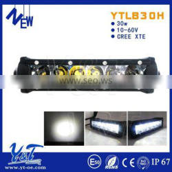 auto light 24v Remote control Amber Flash Led Light Bar 30w led warning light bar