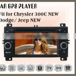 Fit for new JEEP chrysler 300C dodge double din car gps dvd