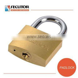 Manufacturer LOGO Keyed Alike Solid Brass Padlock