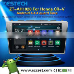 2015 NEW HOT SELLING dvd player car stereo for Honda crv Android4.4.4 up to 5.1 OBDII 1.6GHz MCU 3G WiFI
