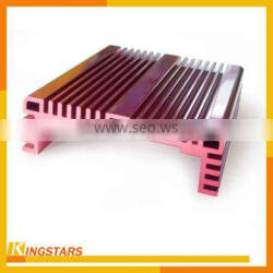 Silver natural anodized aluminum extrusion profiles