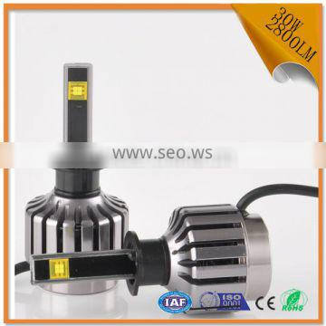 2016 Brand - new 30W 2800LM h1 led headlights with white light