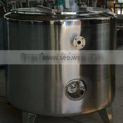 830L Hold-up stainless steel vessel