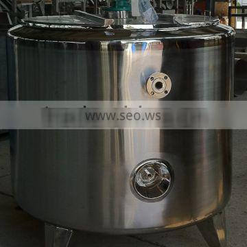 720L Hold-up stainless steel vessel