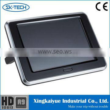 9 inch headrest TFT LCD monitor rear seat entertainment system
