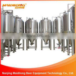 Top manway stainless steel conical fermenter 100l