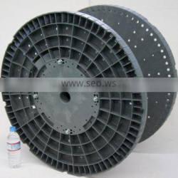 Plastic easy to replace cable drum for pure copper wire rewinder drawing machine coil