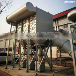 abrasive pulse jet bag dust collector with iso 9001 coal bag dust collector