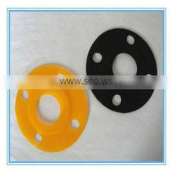 Clear silicone flange gasket