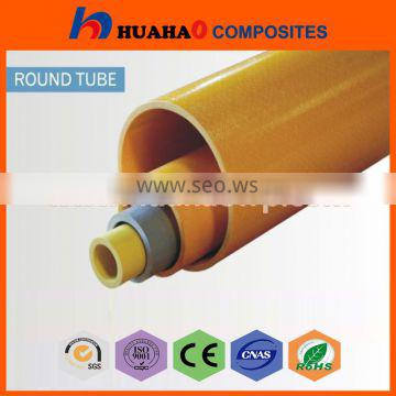 frp tubes yellow Hot Selling Rich Color UV Resistant frp tubes yellow with low price fast delivery