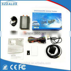 Wholesale fule sensor GSM GPRS GPS vehicle car tracker with android IOS Apps gps tracking system