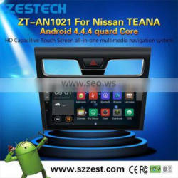Latest Android 4.4.4 up to 5.1 dvd car multimedia for Nissan teana MCU 1.6G 4 core 3g wifi OBDII