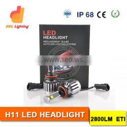 high power 30w 12v 24v led car headlight 4x4 offroad auto car led lamp