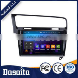 10.2 Inch 2 din Black screen 1.6GHZ RK3188 CPU Quad Core Android 1GB DDR3 car gps dvd player OEM for vw golf 7