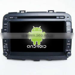 Kaier factory -Qualcore car dvd player for Carens+OEM +dual core +android 4.4+car dvd player for Carens