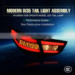 2016 new product car accessories red modified led tail light rear lamp for Hyundai IX35