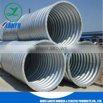 flexible corrugated steel conduit pipes