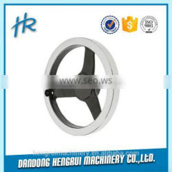 3 years warranty with ISO9001:2008 customized from foundry iron handwheel